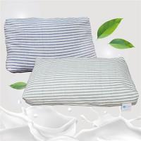 Victoria-可拆式顆粒碎乳膠枕(2顆)(藍綠兩色可選)
