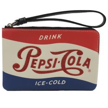 COACH 25865 限量百事可樂圖案零錢手拿包
