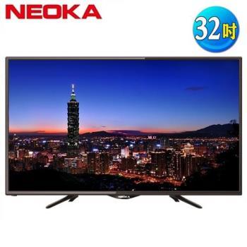 NEOKA新禾(TOSHIBA副牌)32吋抗藍光液晶顯示器+視訊盒32NS100