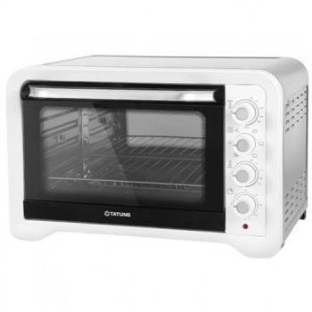 大同45L雙溫控不鏽鋼電烤箱 TOT-B4506A