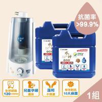 旺旺集圑 水神居家防護組WG-15+抗菌液10Lx2