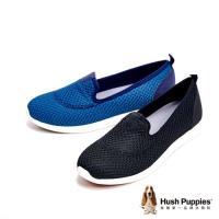 Hush Puppies 超輕量彈力休閒 女鞋-兩色
