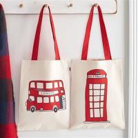 英國蛋 純棉帆布包 | 電話亭&公車