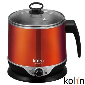 歌林Kolin-1.5L隔熱304不鏽鋼美食鍋KPK-MNR151