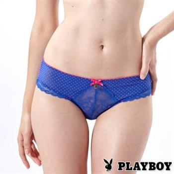PLAYBOY內褲 俏皮點點中低腰平口褲