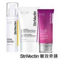 StriVectin 皺效奇蹟 皺效緊緻繃繃精華 50ml+超級皺效逆齡全能保濕凝膠 50ml+超級意外皺效霜  60ml(母檔限定組)