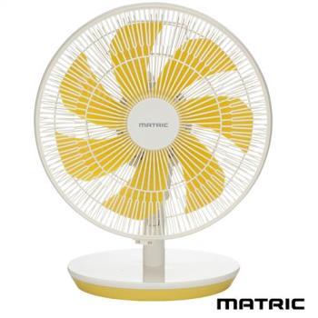MATRIC松木家電-Macaron馬卡龍12吋香氛DC桌扇MG-DF1202