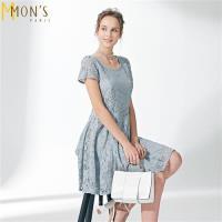MONS復古高級訂製蕾絲洋裝