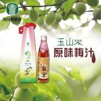南投縣農會 原味梅汁(600ml/瓶) 2瓶一組