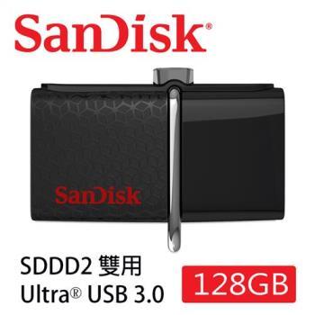 SanDisk Ultra Dual SDDD2 USB3.0 雙用隨身碟 (128G/USB-Micro USB3.0/OTG) [公司貨]
