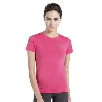 【聖伯納St. Bonalt】女-吸濕排汗速乾亮彩運動T恤7188彈力 透氣 戶外 跑步 運動 素色 百搭