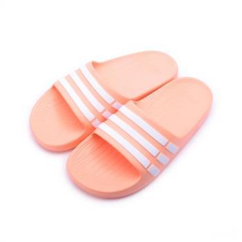 ADIDAS Duramo Slide K 一體成型套式拖鞋 裸膚 CP9384 中童鞋 鞋全家福