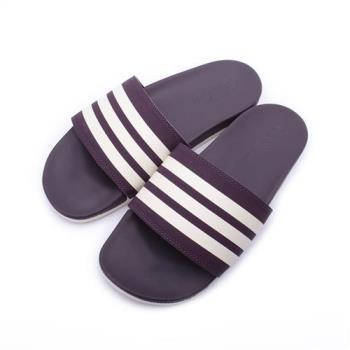 ADIDAS ADILETTE CF+ STRIPES W套式拖鞋 紫葡米 AH2589 女鞋 鞋全家福