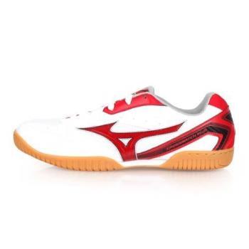 MIZUNO CROSSMATCH PLIO RX4 男女桌球鞋-乒乓 美津濃 白紅