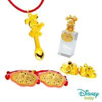Disney迪士尼系列金飾 彌月金飾印章套組木盒-榜首美妮款-美妮造型印章 0.95錢