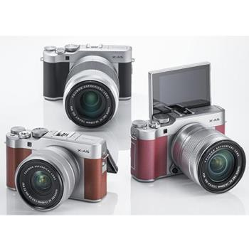 送64G全配組~Fujifilm 富士 X-A5+15-45mm 電動鏡組(XA5,恆昶公司貨)