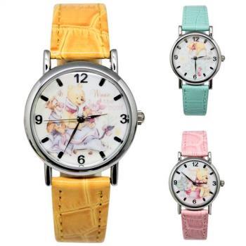 【Disney迪士尼】質感金屬系列手錶 - Winnie the Pooh 小熊維尼  (三款任選)