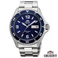 ORIENT東方錶  尖峰時刻自動上鍊 潛水 機械運動腕錶-藍x41.5mm  FAA02002D9