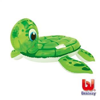 哈街Bestway 海龜造型充氣浮排/座圈41041