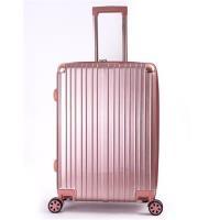 DF travel - 20吋描繪足跡環遊全球硬殼可加大防刮絲紋行李箱-共4色