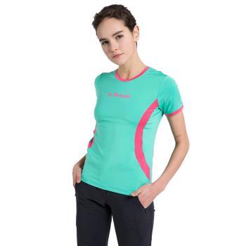 聖伯納St. Bonalt 女-靚彩速乾圓領T恤 7174 涼爽 透氣 吸濕 排汗 修飾身型