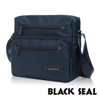 BLACK SEAL 經典休旅系列 橫式斜背/側背包(午夜藍 BS83493)