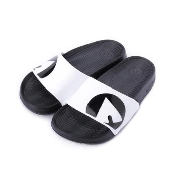 AIRWALK 套式拖鞋 白黑 A823220200 中大童鞋 鞋全家福