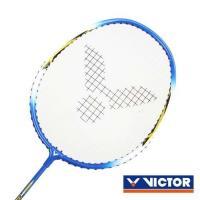 VICTOR 亮劍穿線拍-羽球 羽毛球拍 訓練 勝利 藍黃