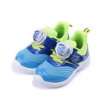戰鬥陀螺 造型電燈運動鞋 藍綠 BEKX75606 中大童鞋 鞋全家福