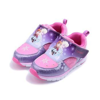 冰雪奇緣 輕量前燈運動鞋 紫 FOKX74457 中大童鞋 鞋全家福