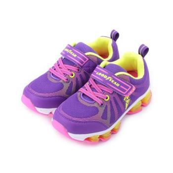 GOODYEAR 輕量避震運動鞋 紫 GAKR86007 中童鞋 鞋全家福