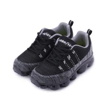 GOODYEAR 編織全氣墊運動鞋 黑 GAKR81010 大童鞋 鞋全家福