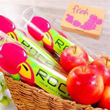 坤田水果 紐西蘭Rockit樂淇櫻桃小蘋果(4箱)3瓶入單瓶330克