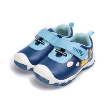 MIFFY 護趾網布寶寶鞋 藍 小童鞋 鞋全家福