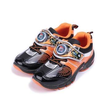機器戰士 造型電燈運動鞋 橘 TOKX76348 中大童鞋 鞋全家福