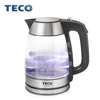TECO 東元 1.7L玻璃快煮壺 (XYFYK1701)