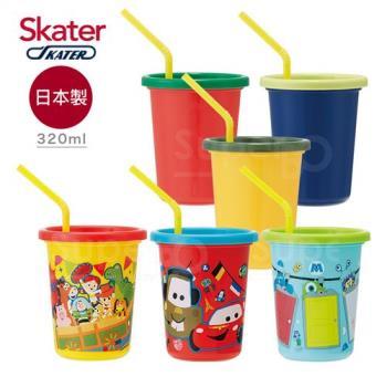Skater日本製3入水杯*2入組  皮克斯+Vegetable(320ml)