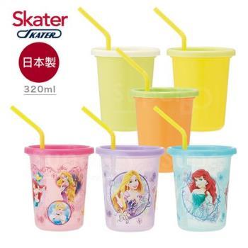Skater日本製3入水杯*2入組  迪士尼公主+Color(320ml)
