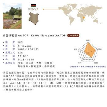 咖啡豆精品莊園 非洲肯亞  AA TOP(咖啡生豆)