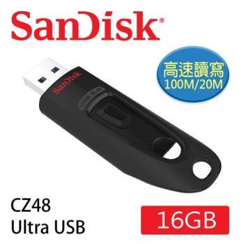 SanDisk CZ48 Ultra USB3.0隨身碟16G [公司貨]