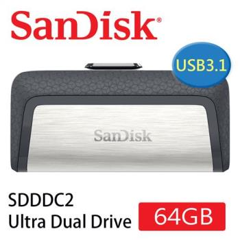 SanDisk Ultra Dual Drive USB Type C 雙用隨身碟(64G/OTG ) [公司貨]