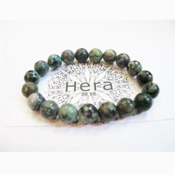 【Hera】頂級溫潤柔和綠松石手珠(10mm)