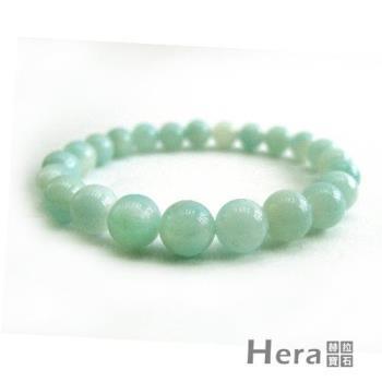 【Hera】頂級濃郁湛藍綠天河石手珠(8mm)