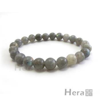【Hera】頂級淨透藍光月光石手珠(8mm)
