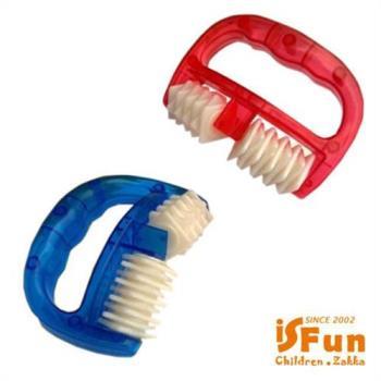 iSFun 手推滾輪 全身按摩器 隨機色
