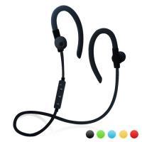 【YANGYI揚邑】YS55運動立體聲耳掛入耳式IPX4級防潑水時尚藍牙耳機-黑色