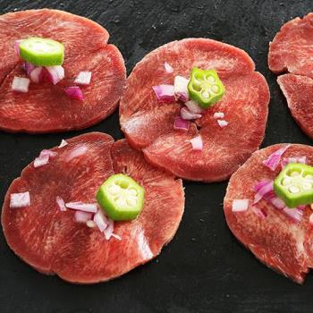 海鮮王 頂級老饕牛舌肉片200克4包