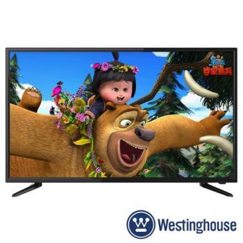 Westinghouse美國西屋43吋 LED液晶顯示器+視訊盒KE-43V02★送星巴克同款膳魔師保溫杯