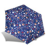 RAINSTORY雨傘-倫敦風情(藍)抗UV輕細口紅傘 品牌:RAINSTORY