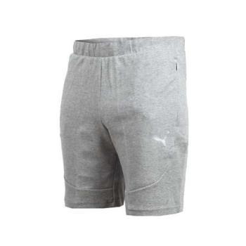 PUMA EVOSTRIPE 男基本系列輕量短褲-慢跑 路跑 灰銀